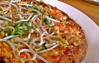 California-styl pizza